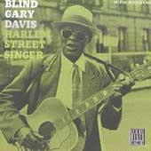 Rev Gary Davis, Harlem Street Singer record cover