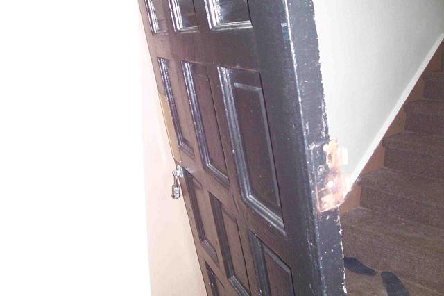 Forest Park Apartments - padlocked door
