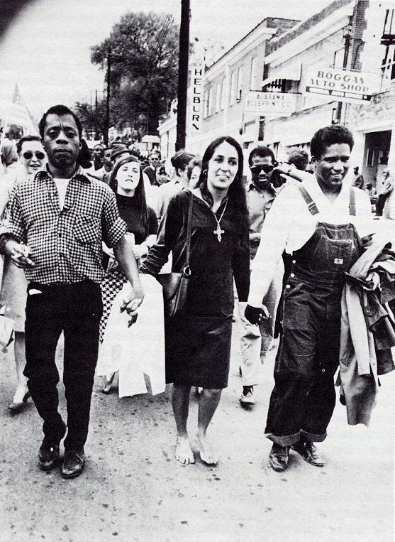 Baldwin, Baez, Forman - Montgomery, Ala. 1965