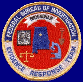 FBI Evidence Response Team patch