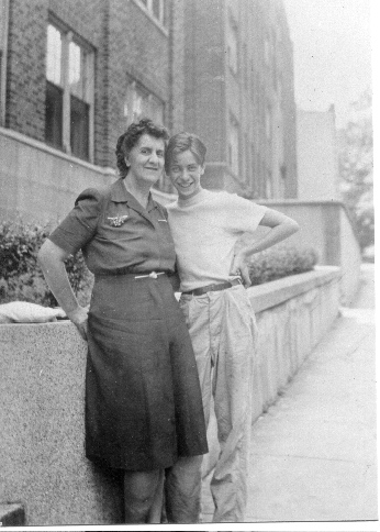 Paul Greenberg and his mother, Gertrude Swig Greenberg