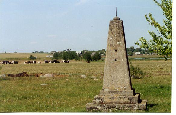 Shoah memorial monument, Volpa, Belarus