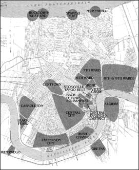 Jazz History Map Area
