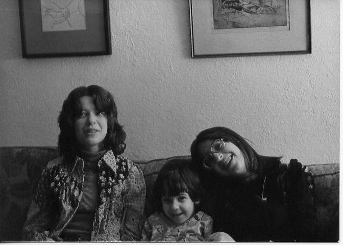 Francine, Ben, Jessica 1974