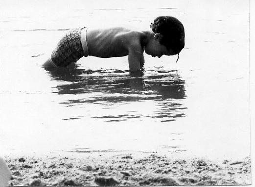 Ben, Lake Mohegan, NY 1974