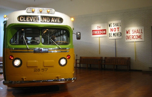 Restored Cleveland Avenue Bus