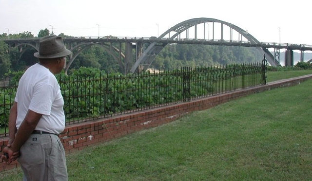 Scott B. Smith and Edmund Pettus Bridge
